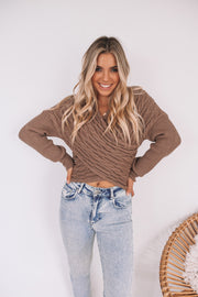Joelene Top - Brown