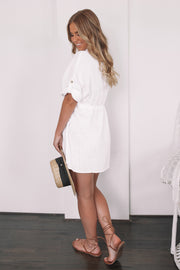 Quarry Dress - White