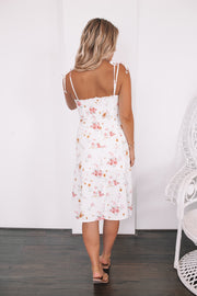 Florescence Dress - White Floral