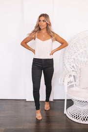 Highrise Jeans - Black