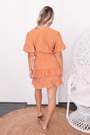Boracay Dress - Rust Spot