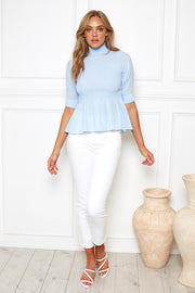 Marny Top - Blue