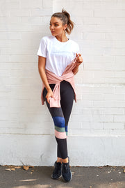 Run Around Legging - Black