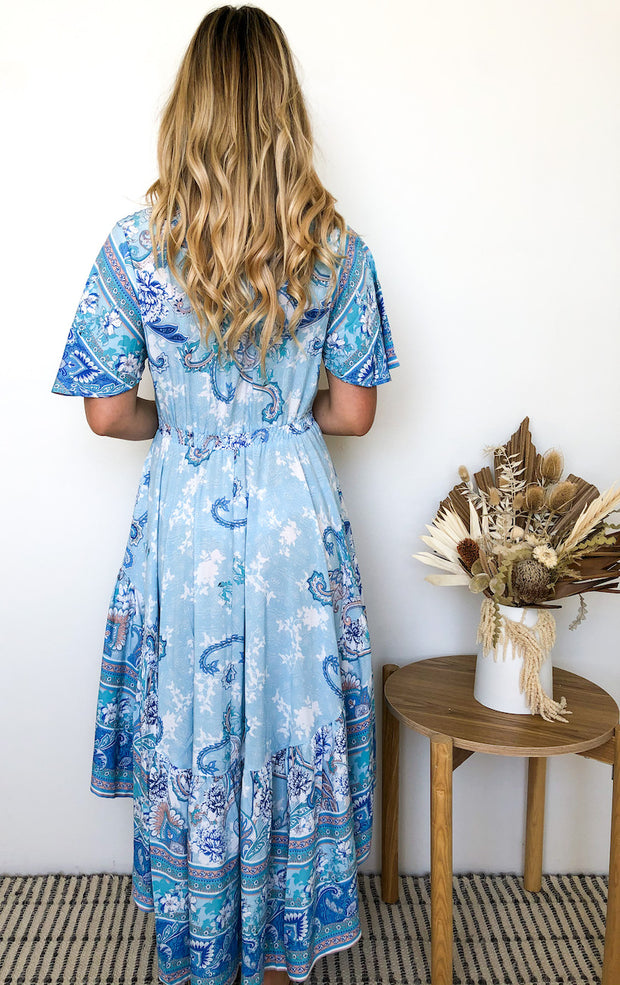 Aloe Dress - Light Blue