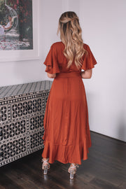 Farren Dress - Rust