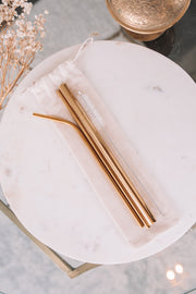 Metal Straws - 3 Pack