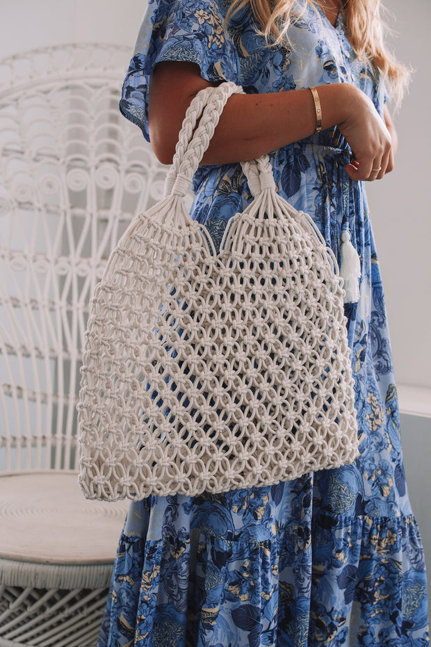 Nestle Beach Bag - White