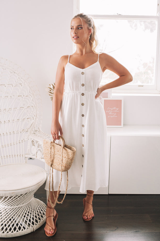 Lulo Dress - White