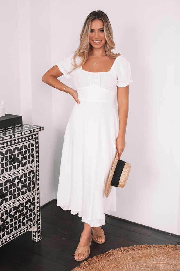 Trish Dress - White