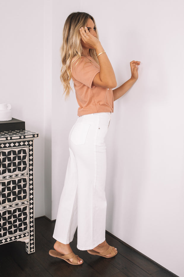 Darcy Pants - White