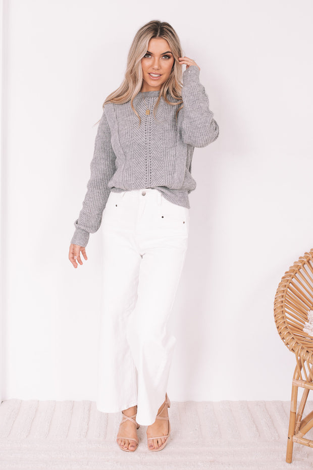 Karola Knit - Grey