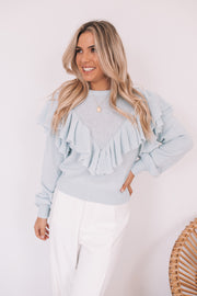 Vivica Top - Light Blue
