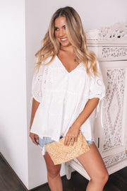 Anise Top - White