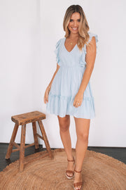 Mayflower Dress - Blue