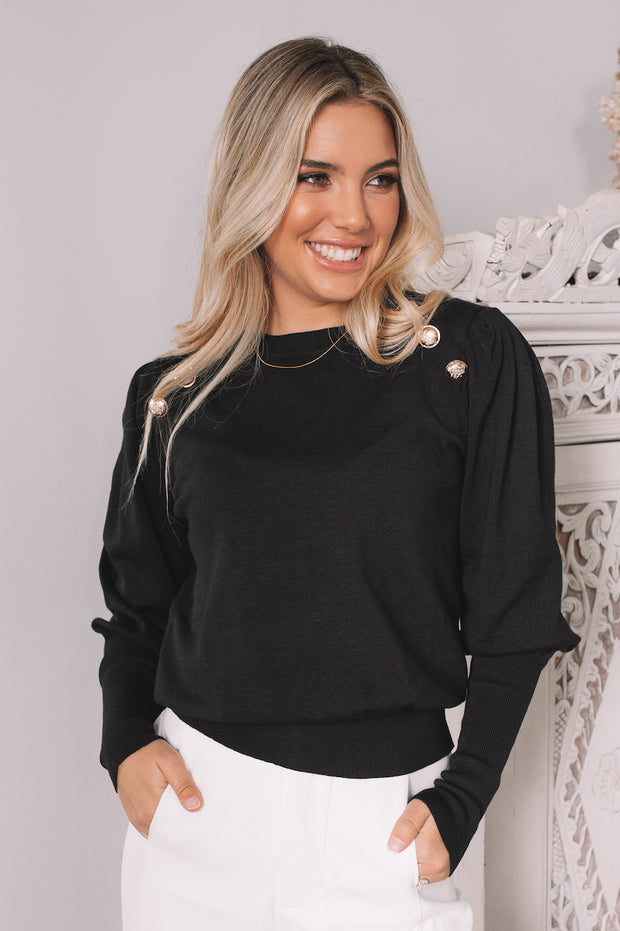 Antonia Top - Black