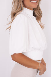 Angele Top - White
