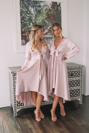 Bryleigh Dress - Blush
