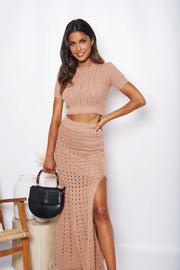 All In Skirt - Caramel