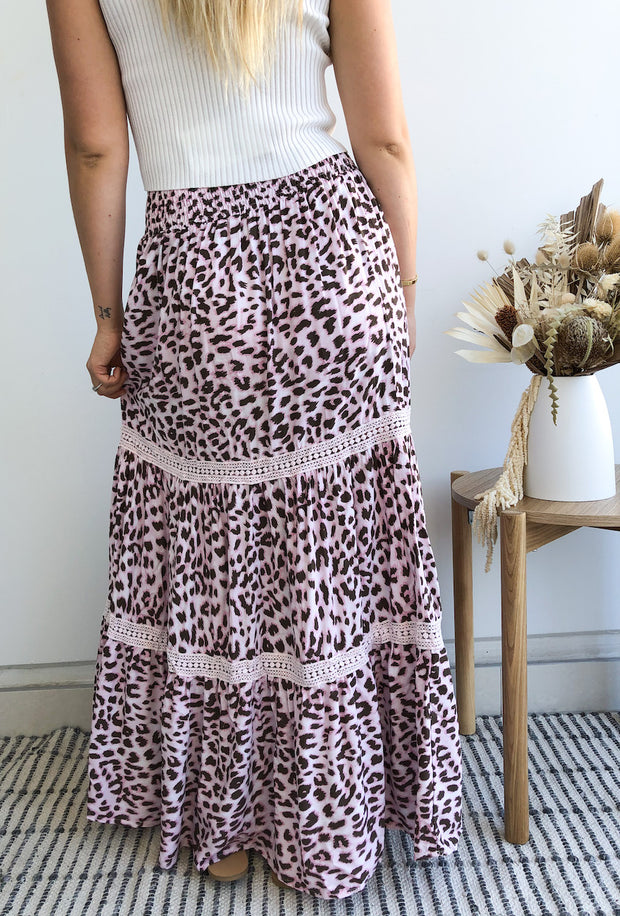 Cathy Skirt - Leopard Print