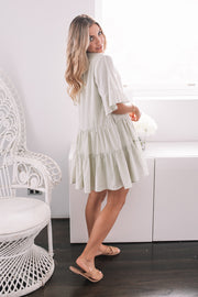 Beth Dress - Faded Sage