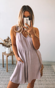 Parfait Dress - Lilac