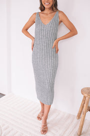 Ulyssa Dress - Grey