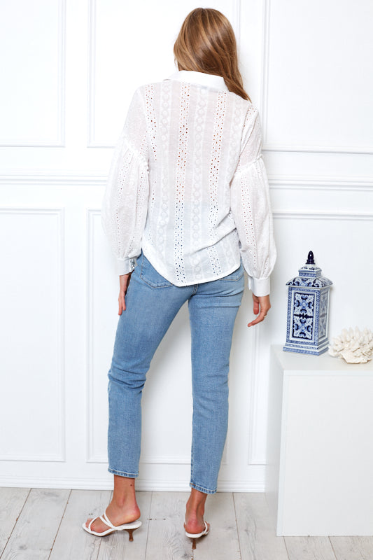 Maldive Top - White