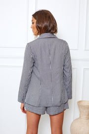 Girl Boss Blazer - Gingham