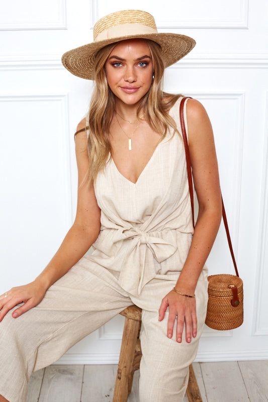 Kalua Jumpsuit - Natural