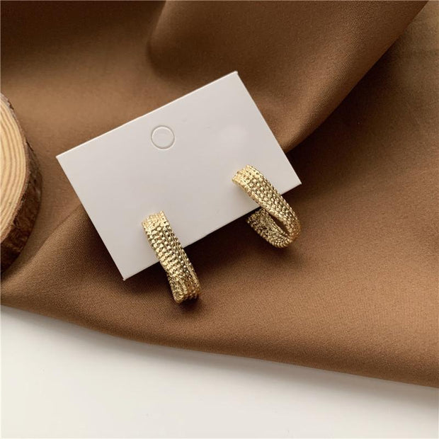 Clueso Earrings - Gold