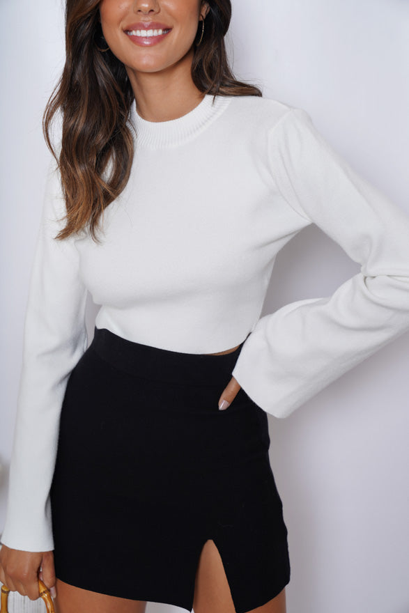 Swan Top - White