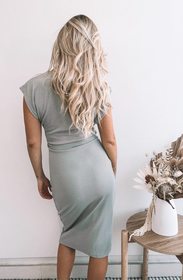 Boathouse Dress - Sage