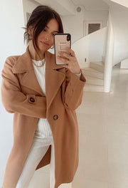 Fireplace Coat - Camel