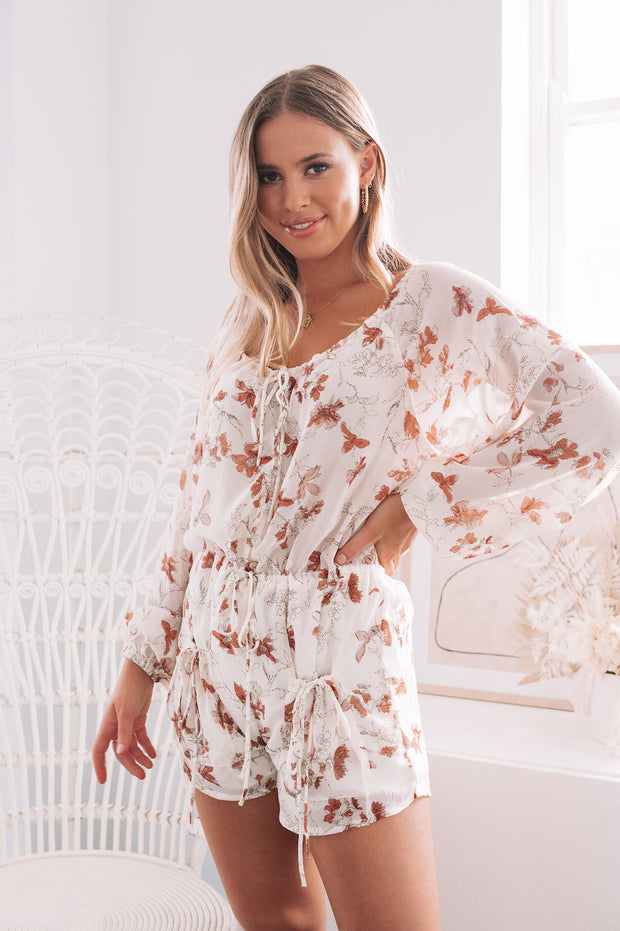 Fortitude Playsuit - Floral Print