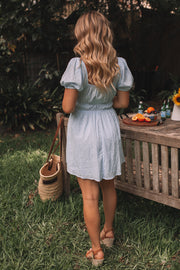Frances Dress - Light Blue
