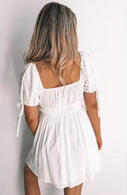 Frances Dress - White