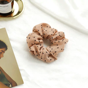 Sandra Scrunchie - Peach Print-Accessories-Womens Accessory-ESTHER & CO.