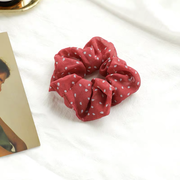 Sandra Scrunchie - Red Print-Accessories-Womens Accessory-ESTHER & CO.