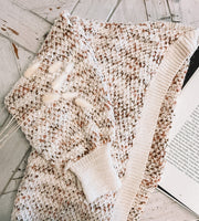 Sherry Cardigan - Cream Multi