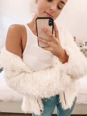 Karrueche Jacket - Cream