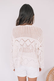 Josefina Knit - White