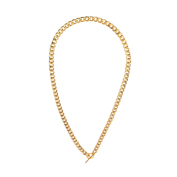 Kiera Necklace - Gold-Necklaces-Womens Accessory-ESTHER & CO.
