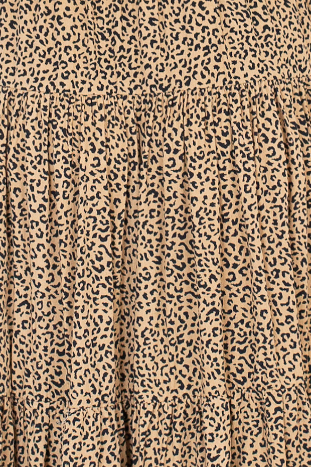 Tidal Dress - Animal Print