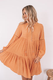 Maverick Dress - Tangerine