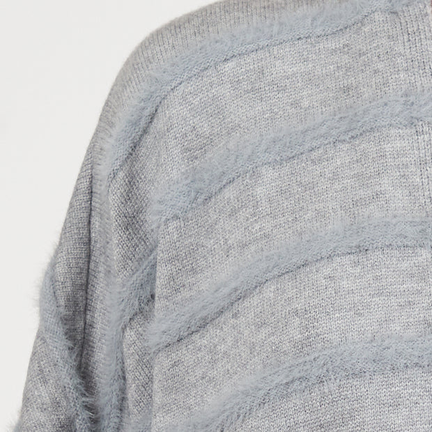 Grazed Cape - Grey
