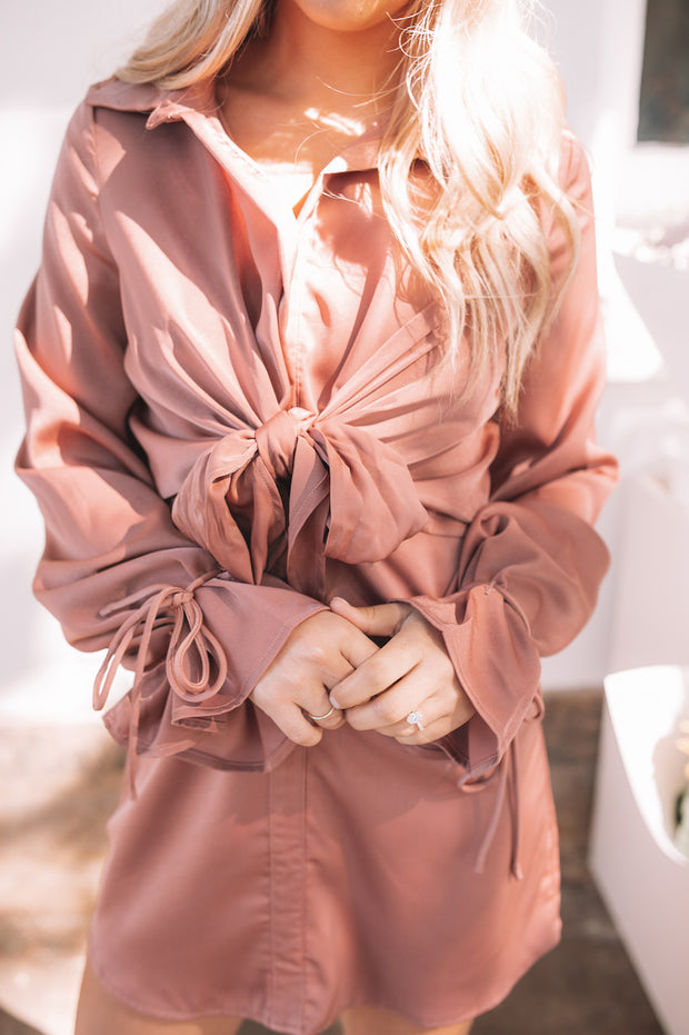 Adelphia Dress - Copper