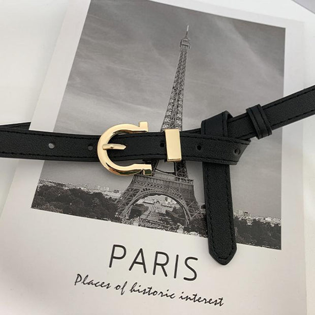 Malika Belt - Black-Accessories-Womens Accessory-ESTHER & CO.