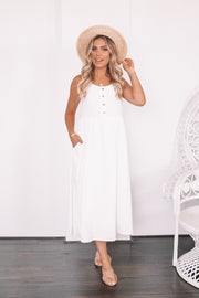 Meringue Dress - White