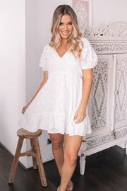 Mused Dress - White
