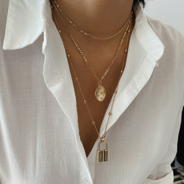 Wonderwall Necklace - Gold-Accessories-Womens Accessory-ESTHER & CO.